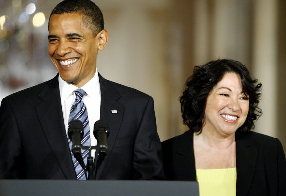 Sotomayor and Barack